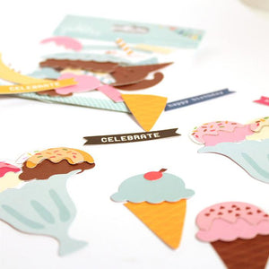 Die Cuts Build your own Ice Cream!