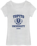 T-Shirt Topito University - blason