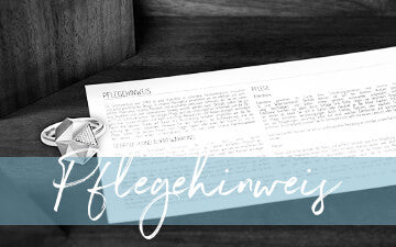 Pflegehinweis - care instructions | SYNO-Schmuck.com