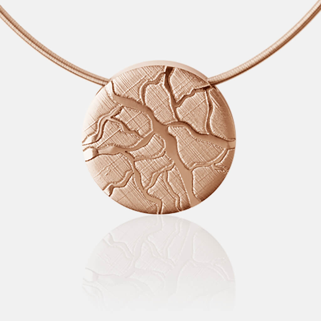 Colima | Collier, Kette, Kettenanhänger - 750 Roségold, Diamanten-Brillanten | necklace, pendant - 18kt rose gold, diamonds | SYNO-Schmuck.com