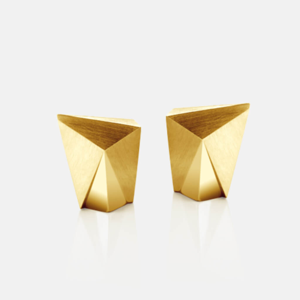 Cyllena | Ohrringe, Ohrstecker (klein) - 750 Gelbgold | ear-studs, earrings - 18kt yellow gold | SYNO-Schmuck.com