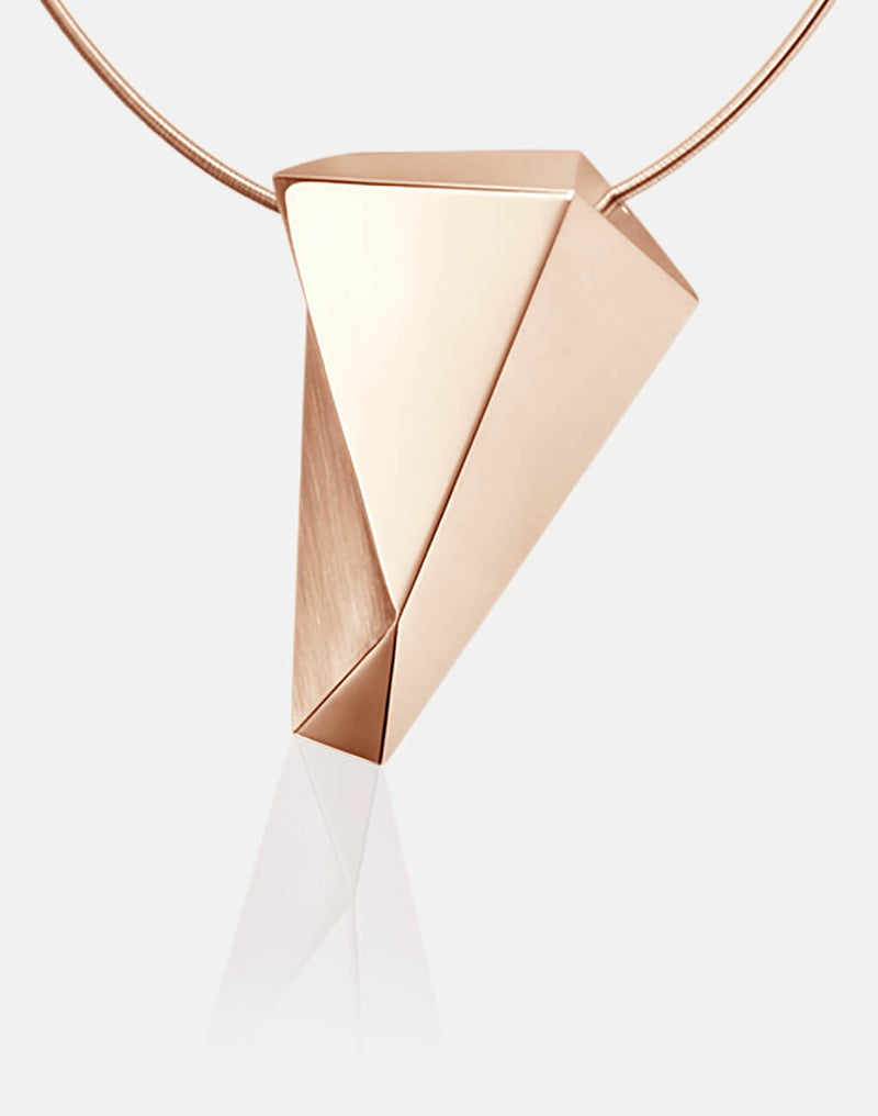 Stealth | Collier, Kette, Kettenanhänger - 750 Roségold, Diamanten-Brillanten | necklace, pendant - 18kt rose gold, diamonds | SYNO-Schmuck.com
