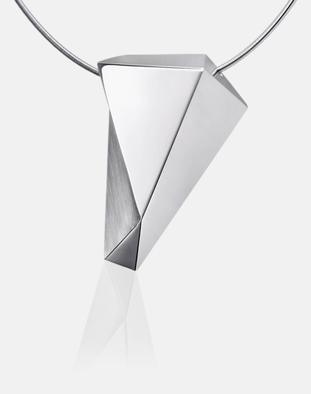Stealth | Collier, Kette, Kettenanhänger - 750 Weissgold, Diamanten-Brillanten | necklace, pendant - 18kt white gold, diamonds | SYNO-Schmuck.com