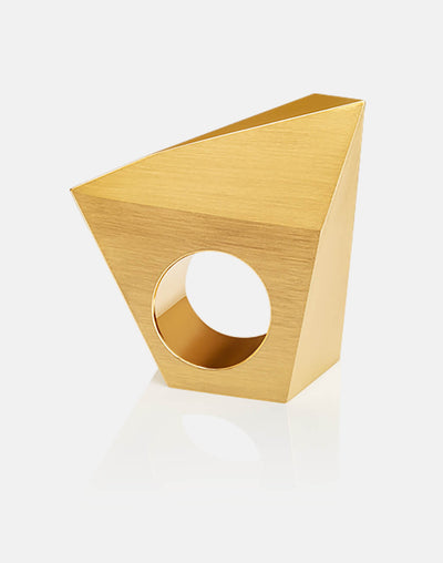 Stealth | Ring - 750 Gelbgold | ring - 18kt yellow gold | SYNO-Schmuck.com