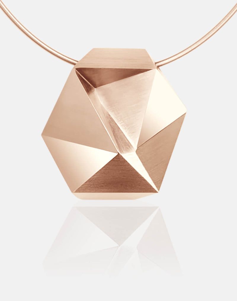 Tectone | Collier, Kette, Kettenanhänger - 750/- Roségold, Diamanten-Brillanten | necklace, pendant - 18kt rose gold, diamonds | SYNO-Schmuck.com
