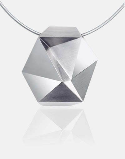 Tectone | Collier, Kette, Kettenanhänger - 750 Weissgold | necklace, pendant - 18kt white gold | SYNO-Schmuck.com