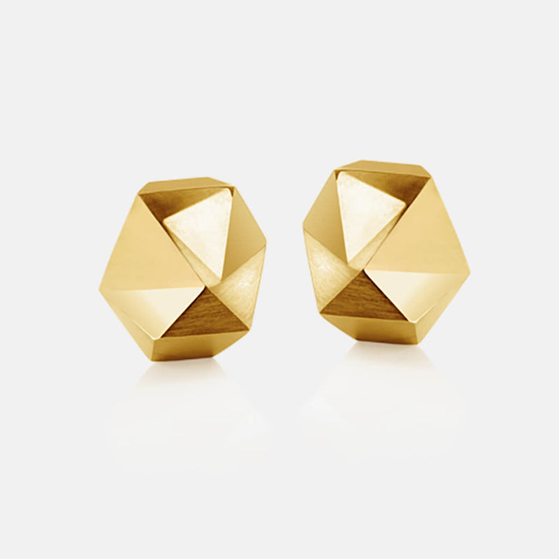 Tectone | Ohrringe, Ohrstecker - 750 Gelbgold, Diamanten-Brillanten | ear-studs, earrings - 18kt yellow gold, diamonds | SYNO-Schmuck.com