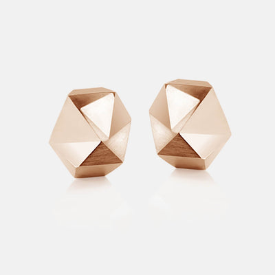 Tectone | Ohrringe, Ohrstecker - 750 Roségold | ear-studs, earrings - 18kt rose gold | SYNO-Schmuck.com