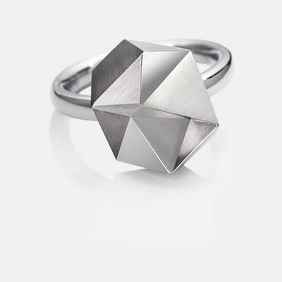 Tectone | Ring - 750 Weissgold | ring - 18kt white gold | SYNO-Schmuck.com