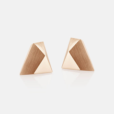 Ufo | Ohrringe, Ohrstecker - 750 Roségold | ear-studs, earrings - 18kt rose gold | SYNO-Schmuck.com