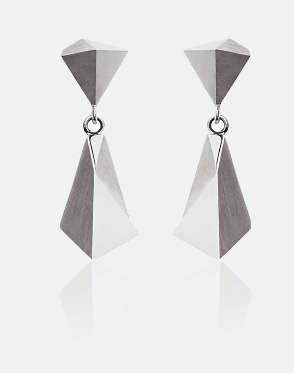 Stealth | Ohrringe, Ohrhänger 750/- Weissgold | earrings, 18kt white gold | SYNO-Schmuck.com