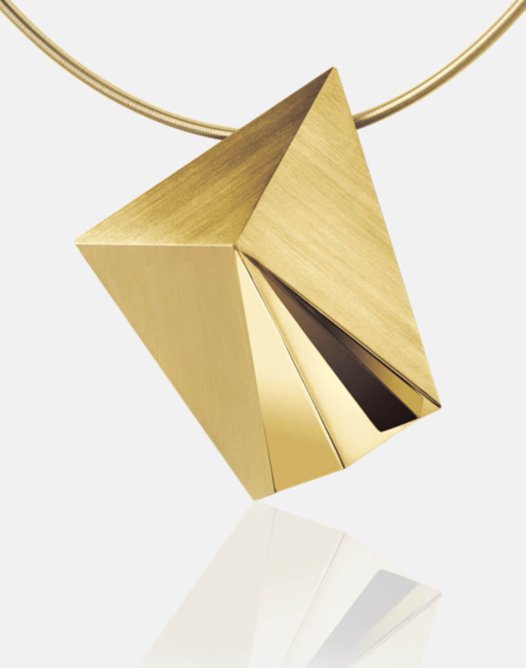 Cyllena | Collier, Kettenanhänger, Kette, 750/- Gelbgold | necklace, pendant, 18kt yellow gold | SYNO-Schmuck.com