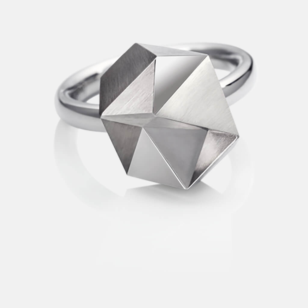 Tectone | Ring, 750/- Weissgold | ring, 18kt white gold | SYNO-Schmuck.com