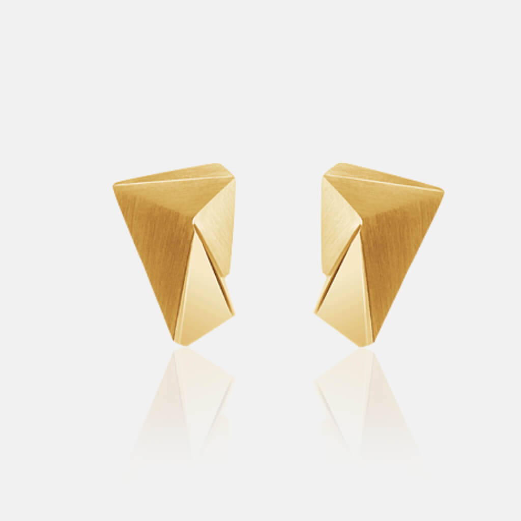 Cyllene | Ohrringe, Ohrstecker, 750/- Gelbgold | ear studs, earrings, 18kt yellow gold | SYNO-Schmuck.com