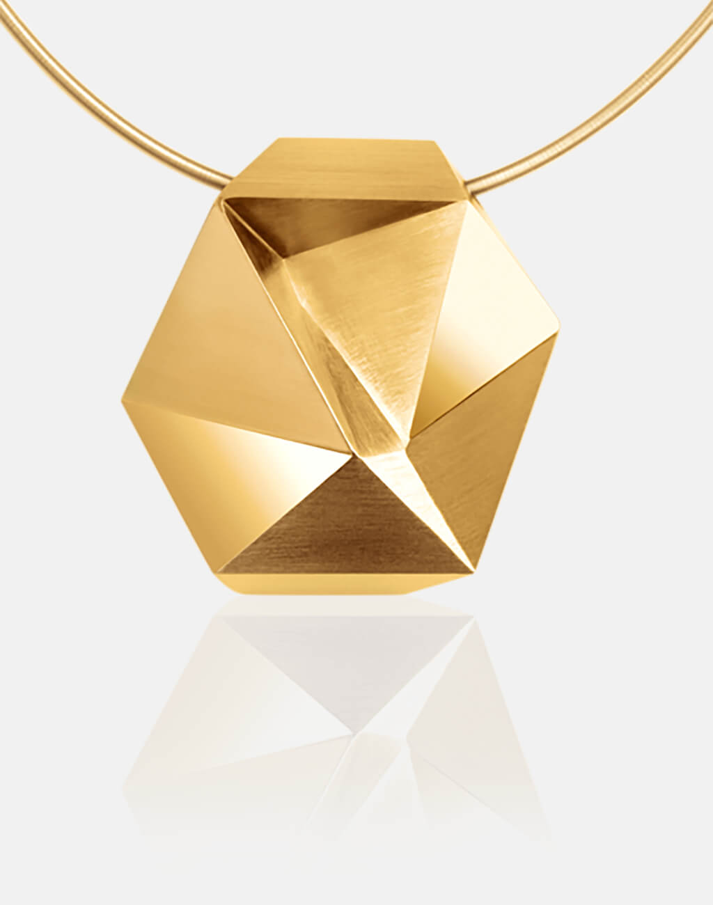 Tectone | Collier, Kettenanhänger, Kette 750/- Gelbgold | necklace, pendant, 18kt yellow gold | SYNO-Schmuck.com