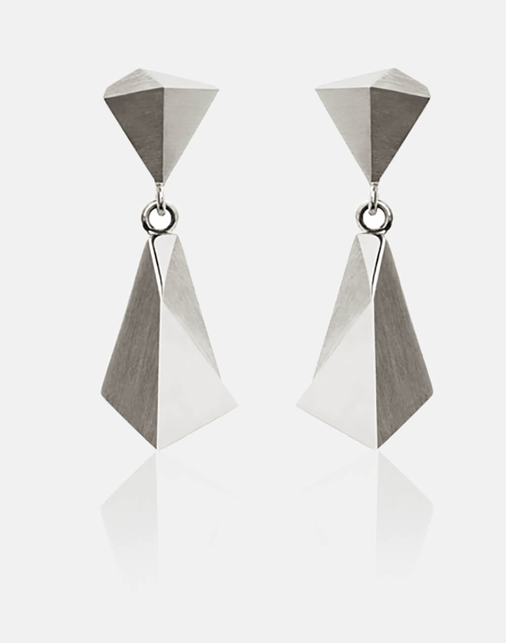Stealth | Ohrringe, Ohrhänger 950/- Platin | earrings 950/- platinum | SYNO-Schmuck.com