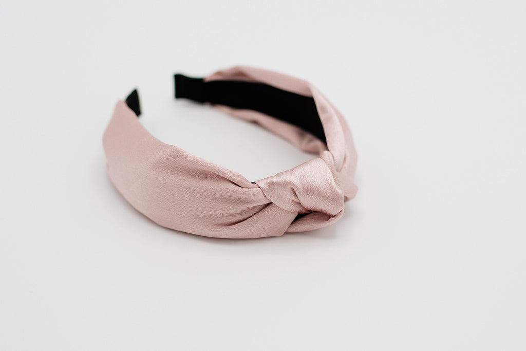 Blush Pink Knotted Headband