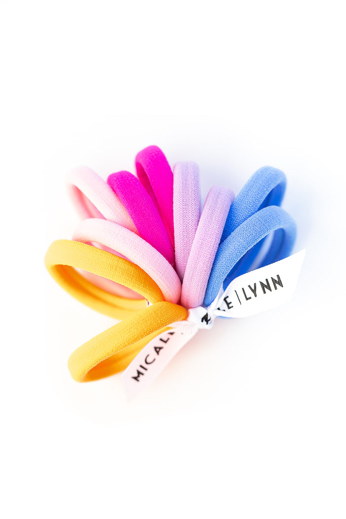 Bright Ouchless Hair Tie Set