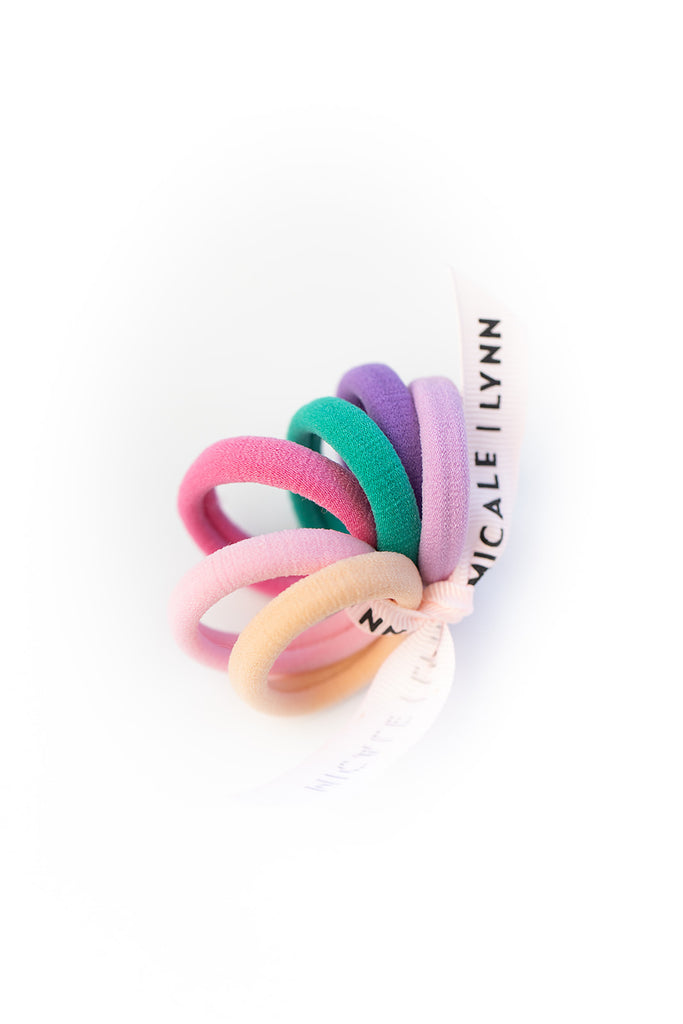 Bright Mini Ouchless Hair Tie Set