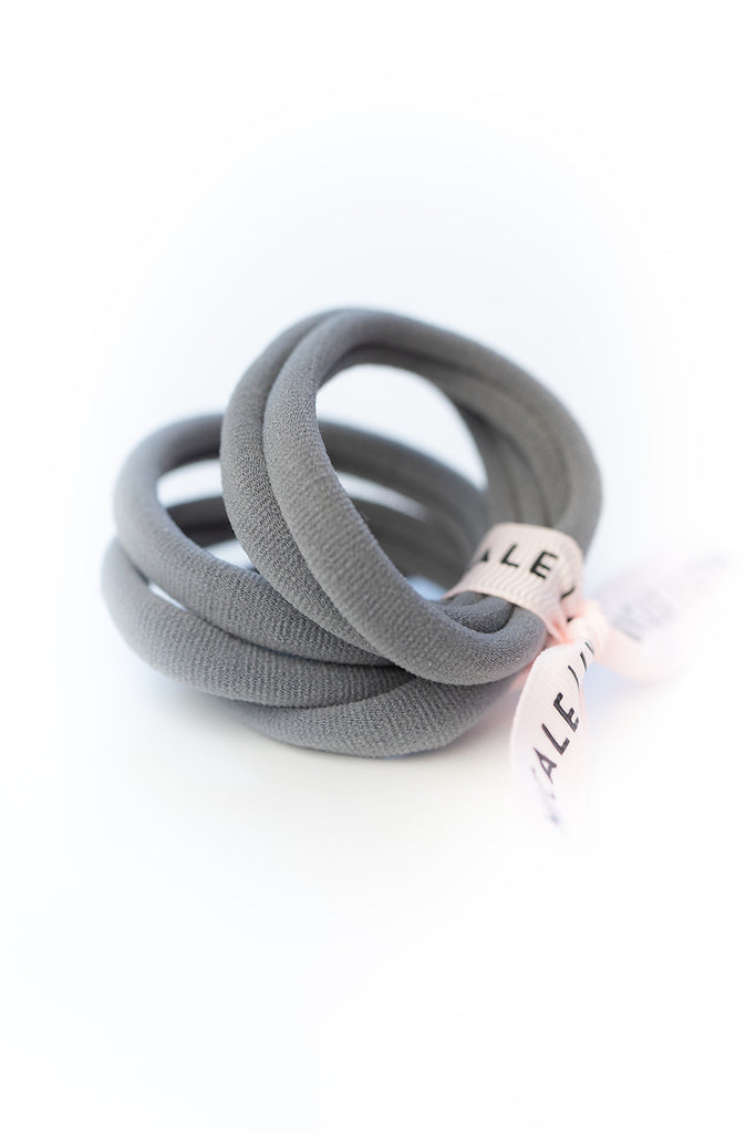 Gray Large Ouchless Hair Ties