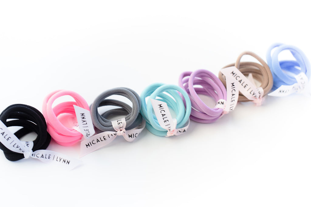 Lilac Large Ouchless Hair Ties