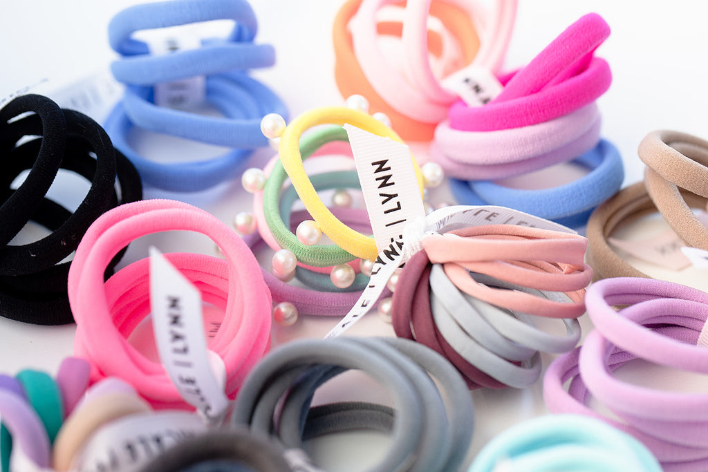 Spring Skinny Ouchless Hair Tie Set