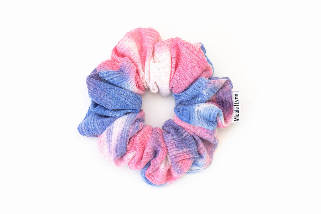 Rib Tie Dye Pink and Blue