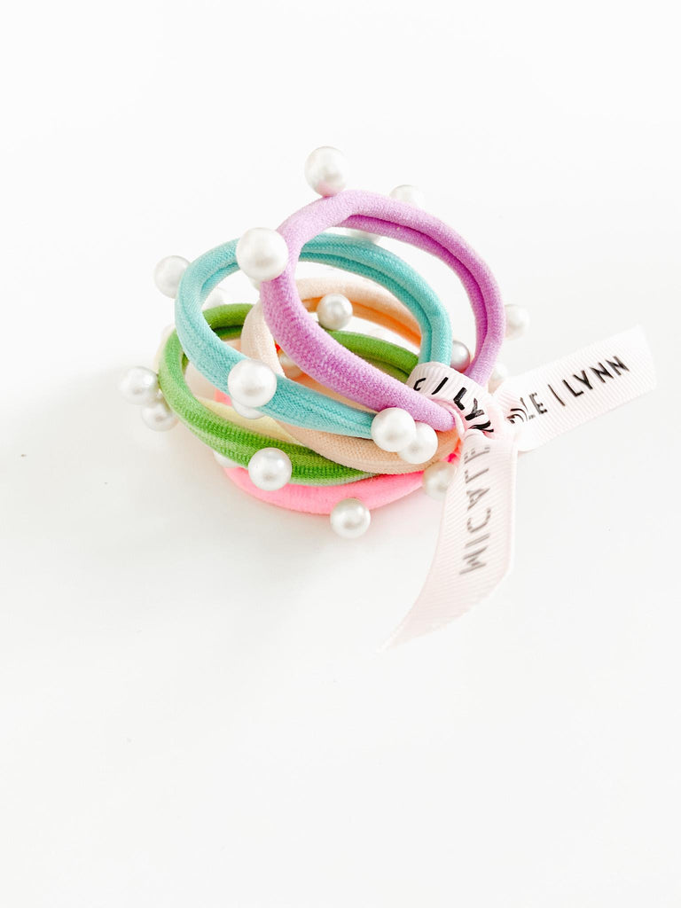 Pearl Ouchless Hair Ties