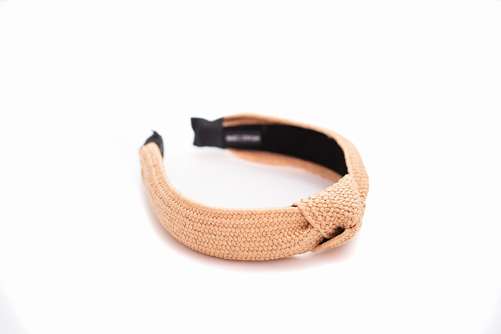 Rattan Woven Knotted Headband
