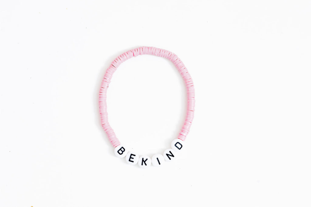 MICALE LYNN X WITHLOVESAR Be Kind Disc Bracelet