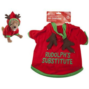 Reindeer Outfit for your Pet - Rudolph Substitute