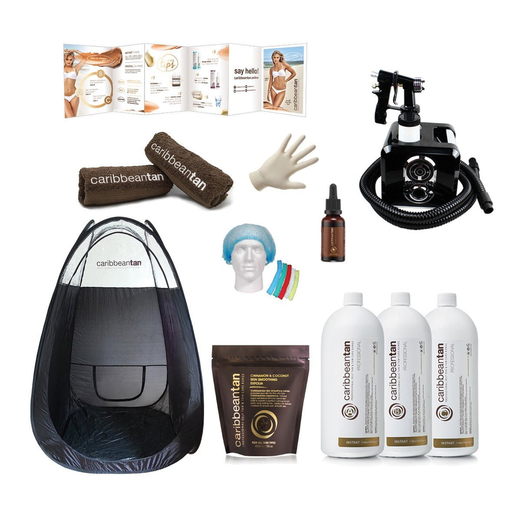 Fitness - Professional Self Tanning Kit - Caribbeantan