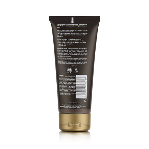 Instant Body Bronzer Lotion SPF 20 - 200ml | Wholesale - Caribbeantan