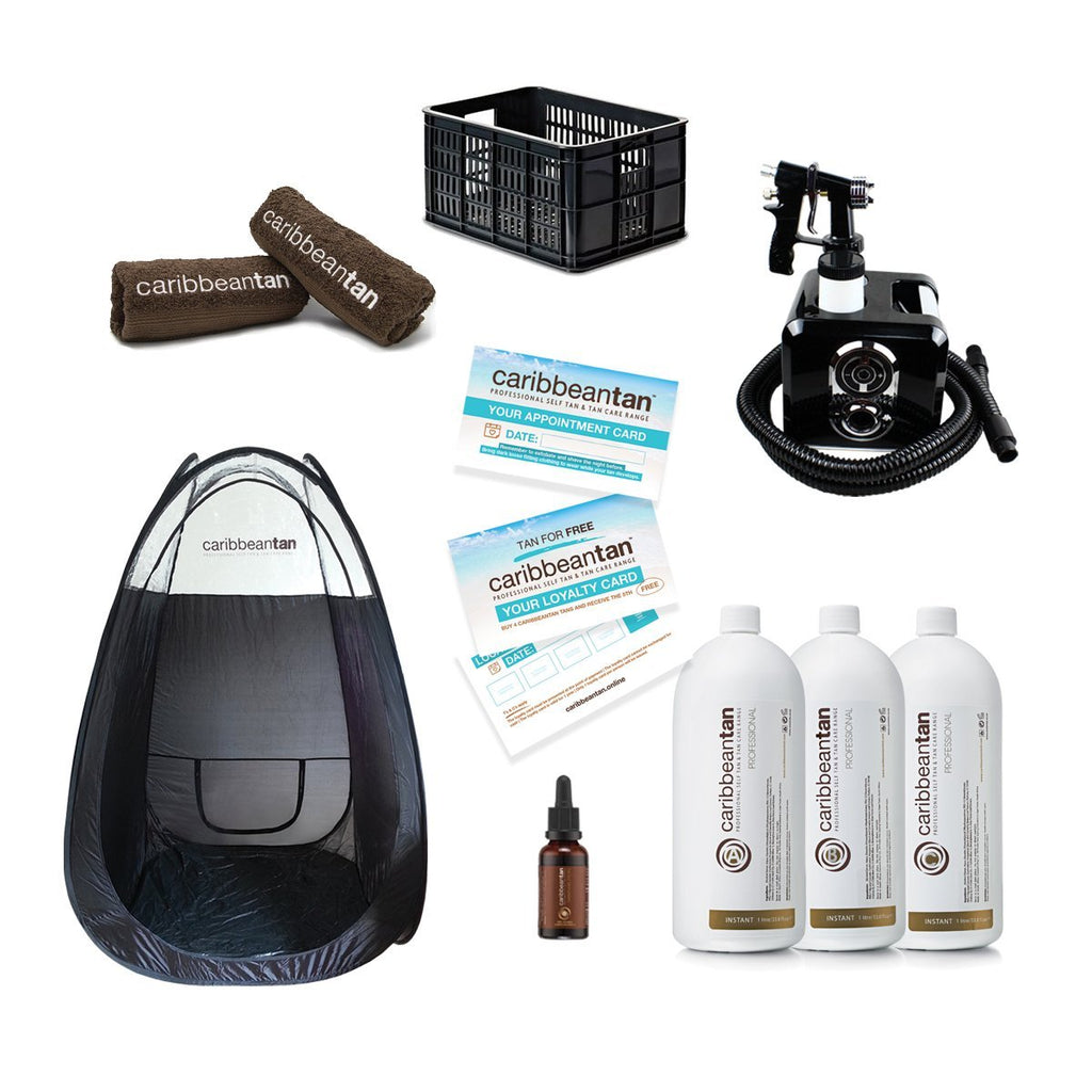 Mobile - Professional Self Tanning Kit - Caribbeantan