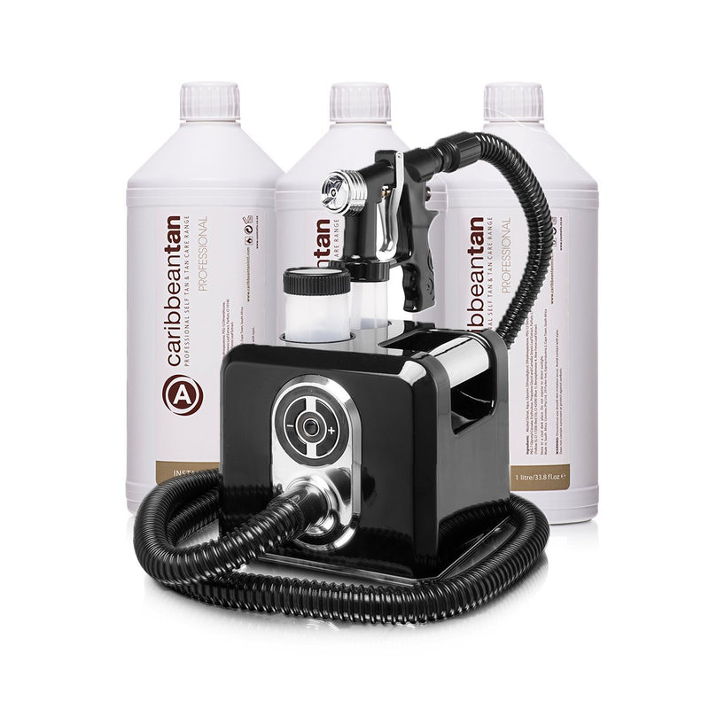 Professional Rapid Air System + 3L Instant Tan Solution - Caribbeantan