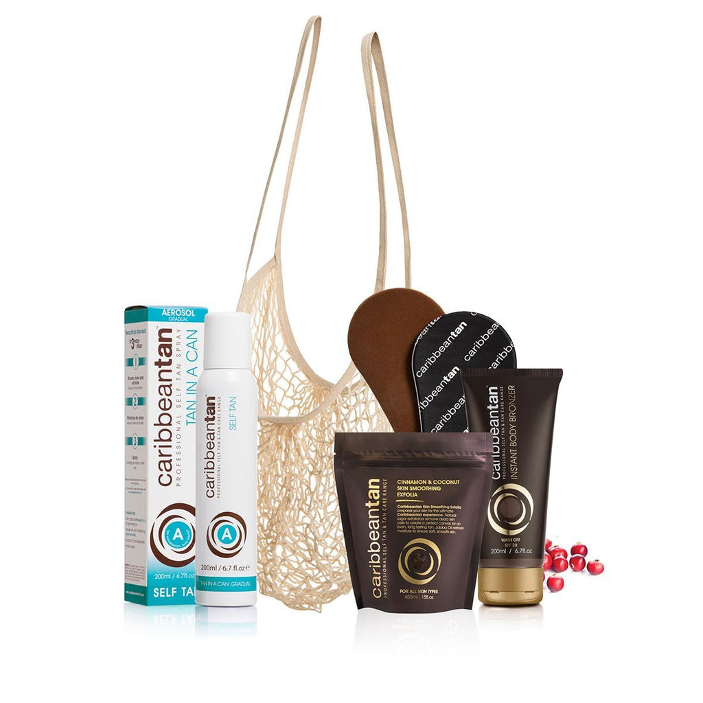 Self tanning Out & About - Bundle - Caribbeantan