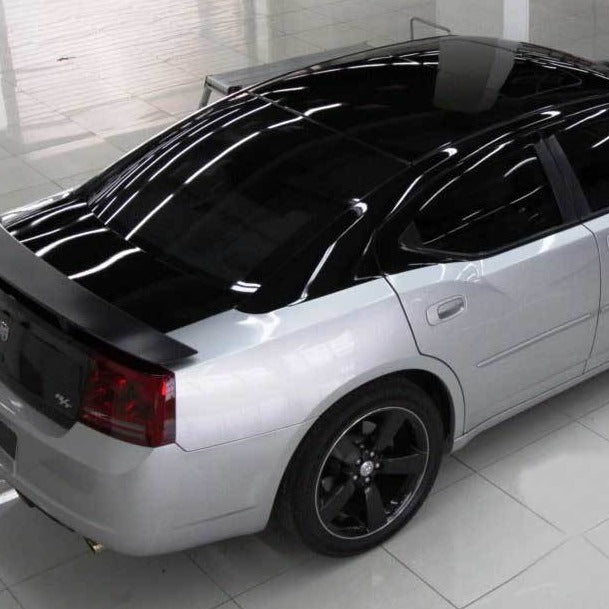Svart Blank Car Wrapping (150 cm x 2,5 m) Car Wrapping Foliebutikken