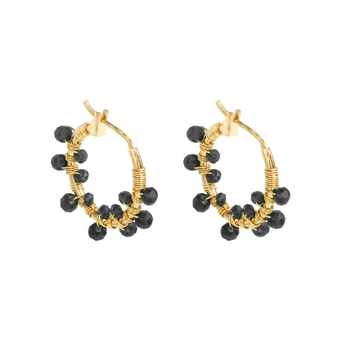 Crystal Beads Earring