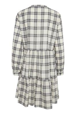 Monochrome Checked Dress
