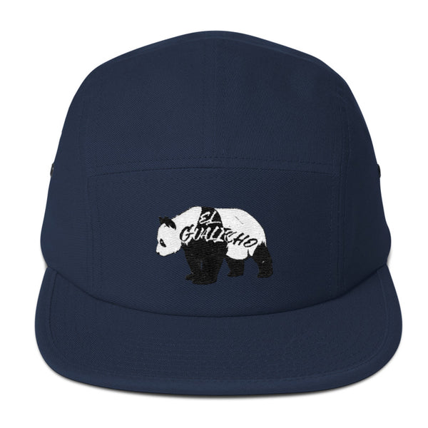 casquette five panel navy panda elgualicho