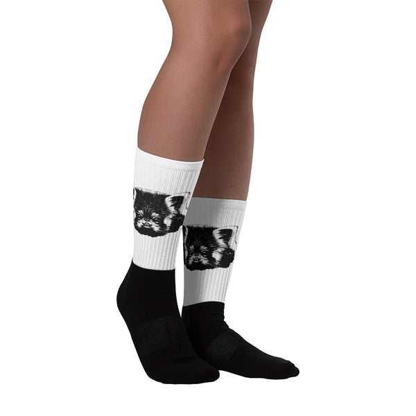 chaussettes red panda