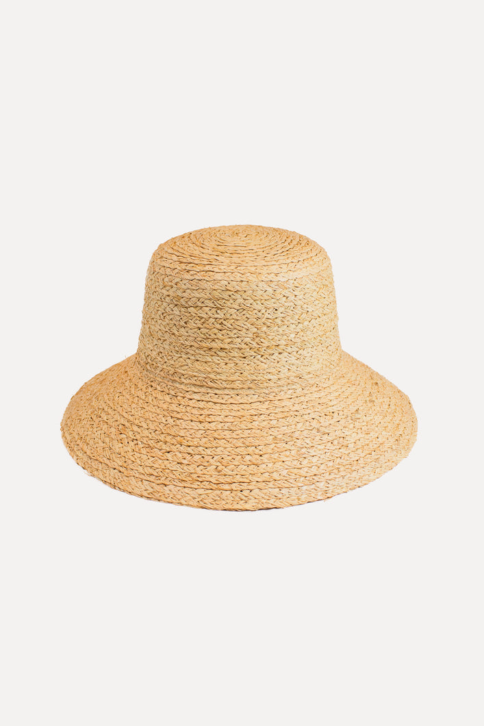 THE RAFFIA WIDE-BRIM STRAW HAT