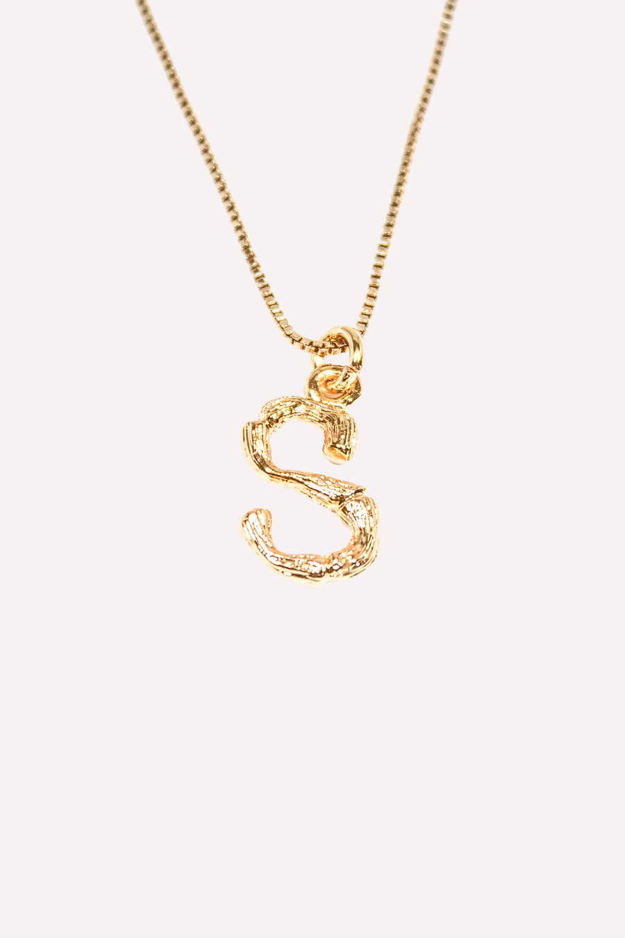 BAMBOO Alphabet Necklace A-Z