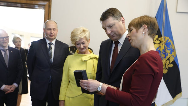 RECOGNITION FROM THE ESTONIAN PRESIDENT