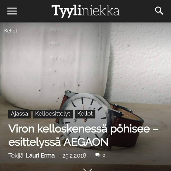 REVIEWED BY FINNISH TYYLINIEKKA