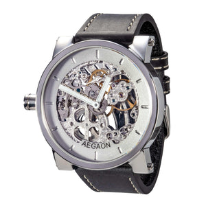 AEGAON Peacemaker 53, skeleton watch, oversized.