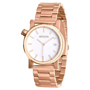 """Tabula Rasa 38"" Rose Gold M"