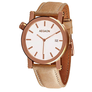 """Tabula Rasa 38"" Rose Gold B"