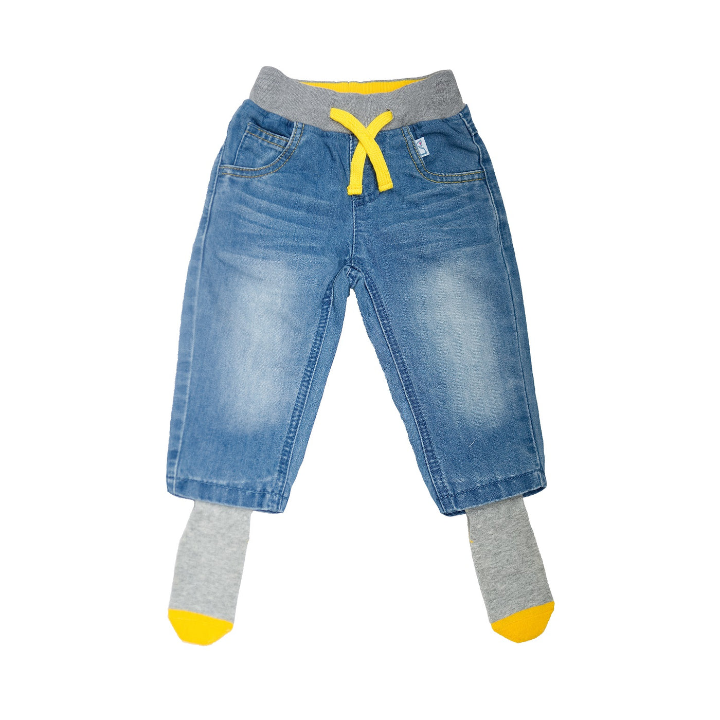Sockatoos Original Jeans - YELLOW