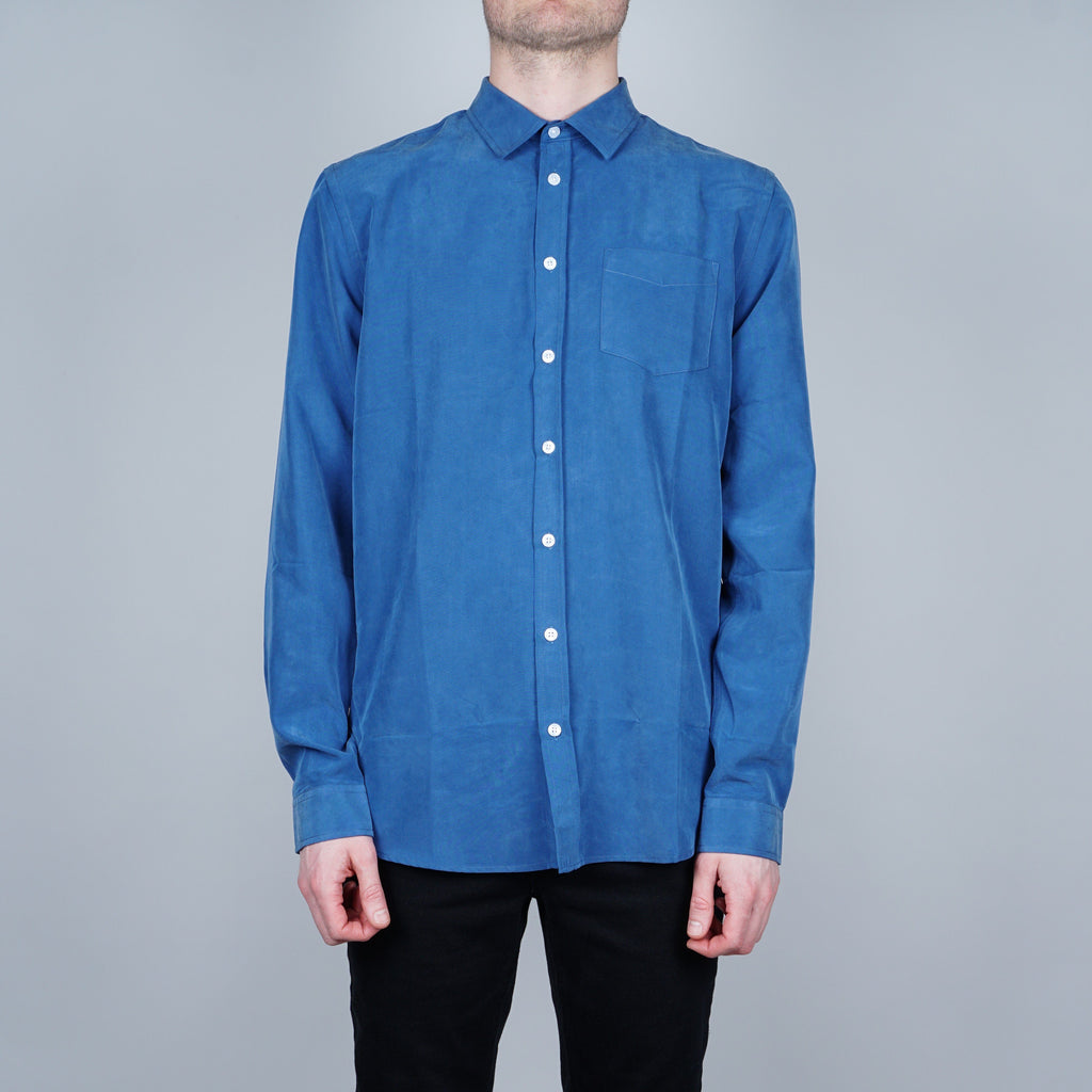 Libertine-Libertine Lynch Shirt - Blue